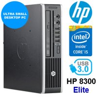 Fast 2.90Ghz/3.60Ghz i5 HP Elite 8300 USFF 8.0GB 240GB SSD W10