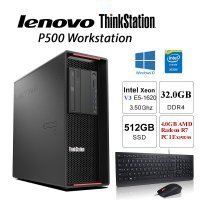 Fast V3 3.50Ghz/3.60Ghz Thinkstation P500 32GB 512GB SSD W10