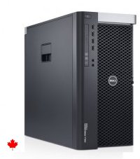 8 Core 2.60Ghz/3.30Ghz E5 Xeon Dell Precision T3600 16GB 500GB