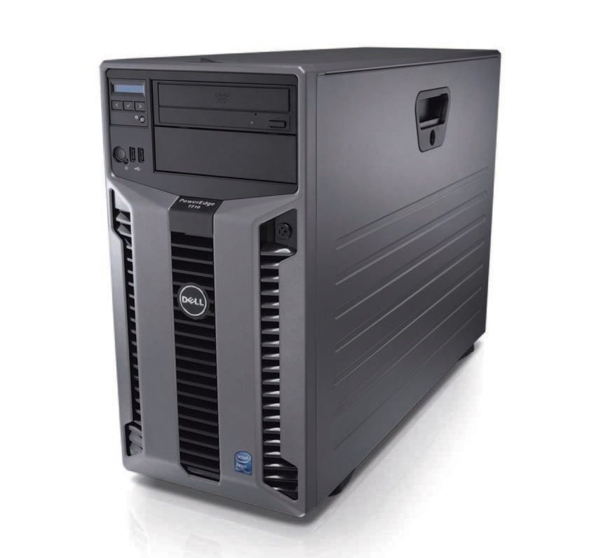 8 Core 2.66Ghz/2.93Ghz Dell PowerEdge T710 64GB Ram 4TB Raid1
